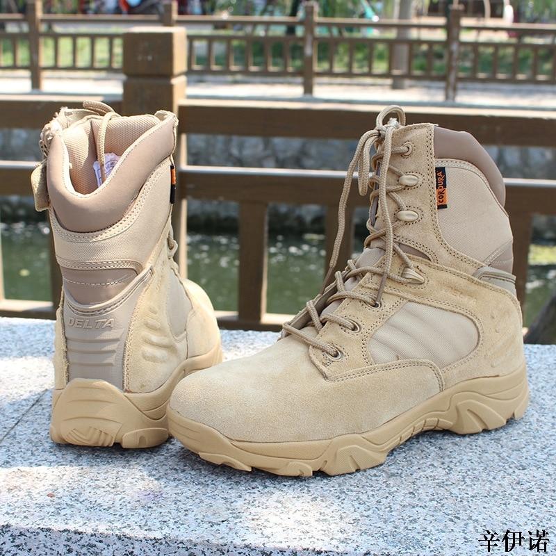 Grande Bege Ao Caminhada Água preto Deserto Combate Sapatos Ar Casual Moda Do D' À Prova Militares De Táticas Botas Porte 46 45 Trabalho Livre Exército Bota Homens 41zf8qx