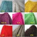Ancho 155 cm pelo 5 cm de largo de Playa de lana tejido De Felpa abrigo de piel de Imitación del bebé fotografía foto de fondo de tela de tela manta alfombra