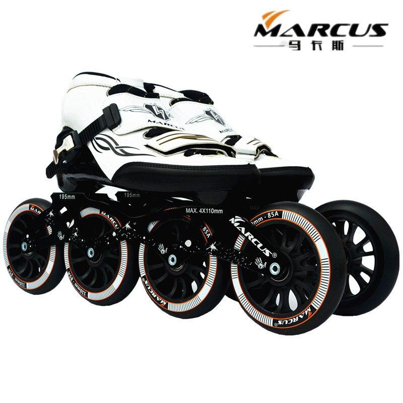 ZODOR MARCUS Patins à Roues alignées Chaussures pour Débutant Entraînement Quotidien Sports De Patinage À Roulettes Patines La Peine D'acheter 4X110mm base de roue