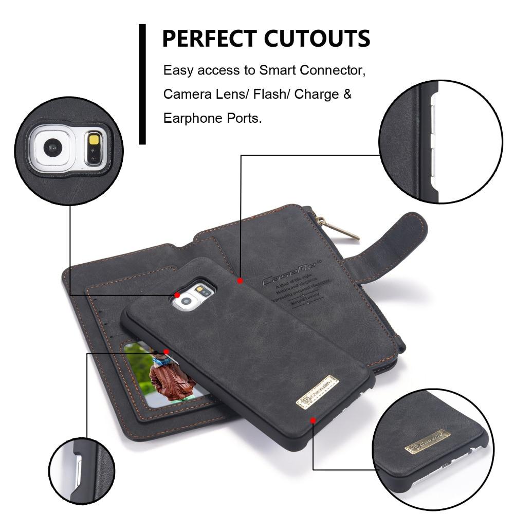 Telefonväska för äkta läderfodral för iPhone X 8 7 6 6s Plus 5s - Reservdelar och tillbehör för mobiltelefoner - Foto 2