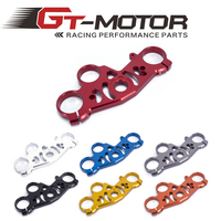 Gt motor FREE SHIPPING black gold red blue For YAMAHA R1 2004 2006 Lowering Triple Front End Upper Top Clamp