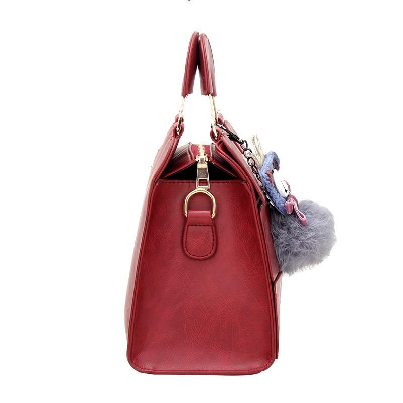 Leather Boho Clutch Bag