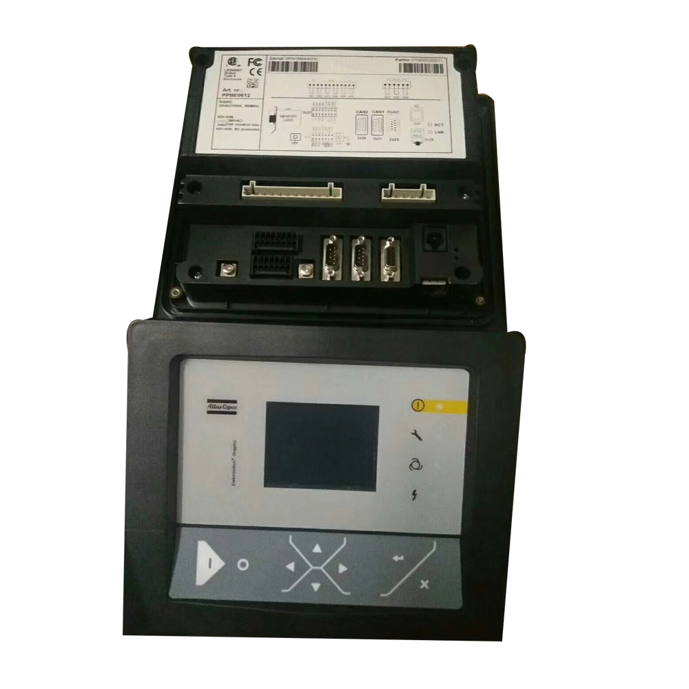 replacement atlas copco air compressor plc computer controller panel 1900071292 1900520001 1900520002 1900071002 ga37 ga55 [ 1000 x 1000 Pixel ]