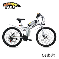 26 inch Electric Bicicleta Electric Motorcycle Folding Bike With Battery Bicicleta Plegable Booster Moto Bicicleta Electrica