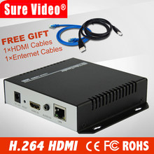 MPEG4 HDMI To IP Live Streaming Video Encoder H.264 RTMP Encoder HDMI Encoder IPTV H264 With HLS HTTP RTSP UDP(China)