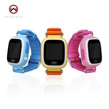 2016 Smart Baby Uhr Gps-verfolger für Kinder 1,22 Touchscreen Smartwatch Anti Verloren Mit SOS baby geschenk Q90 Mit WIFI Positionierung
