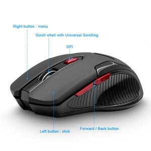 Image 2 - Rocketek USB Wireless Gaming Maus 1600 DPI 6 tasten optische ergonomische für overwatch spiel laptop computer Mäuse