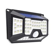 Led Solar Light Bulb Outdoor Waterproof Motion Sensor Path 66/90/118/136 LEDs Lamp for Street Wall Garden Decoration