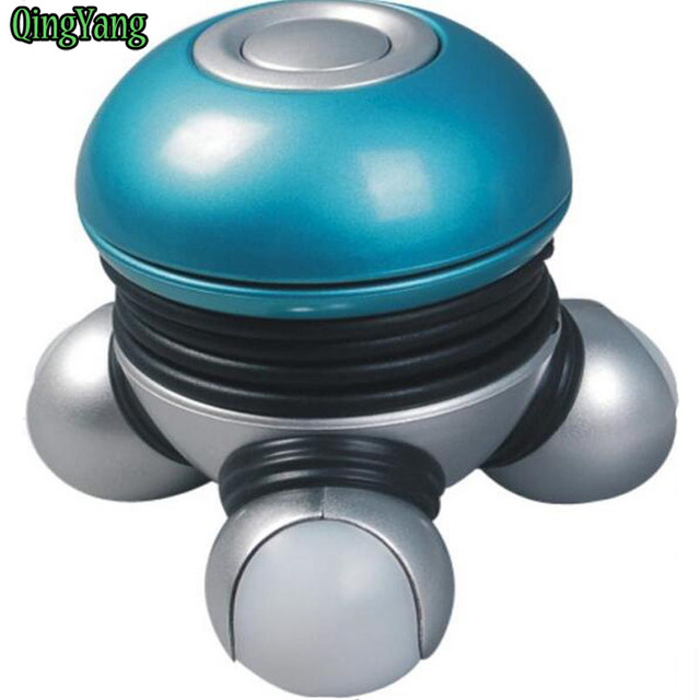 Mini Electric Handheld Wave Vibrating Massager.Battery Slimmer Body Exercise Convenient Devise For Easy Carrying& QY157