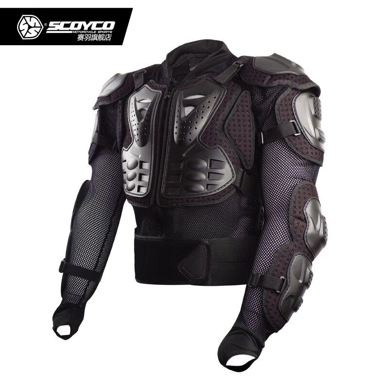 SCOYCO AM02 2 moto cross Body vêtements équestre moto rcycle protecteur moto protecto tout terrain moto rbike poitrine armure veste - 3
