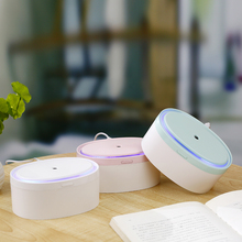 LED Night Light Lamp with 300ML USB Humidifier Air Aromatherapy Diffuser Mini Ultrasonic Electric Aroma Humidifier Diffuser