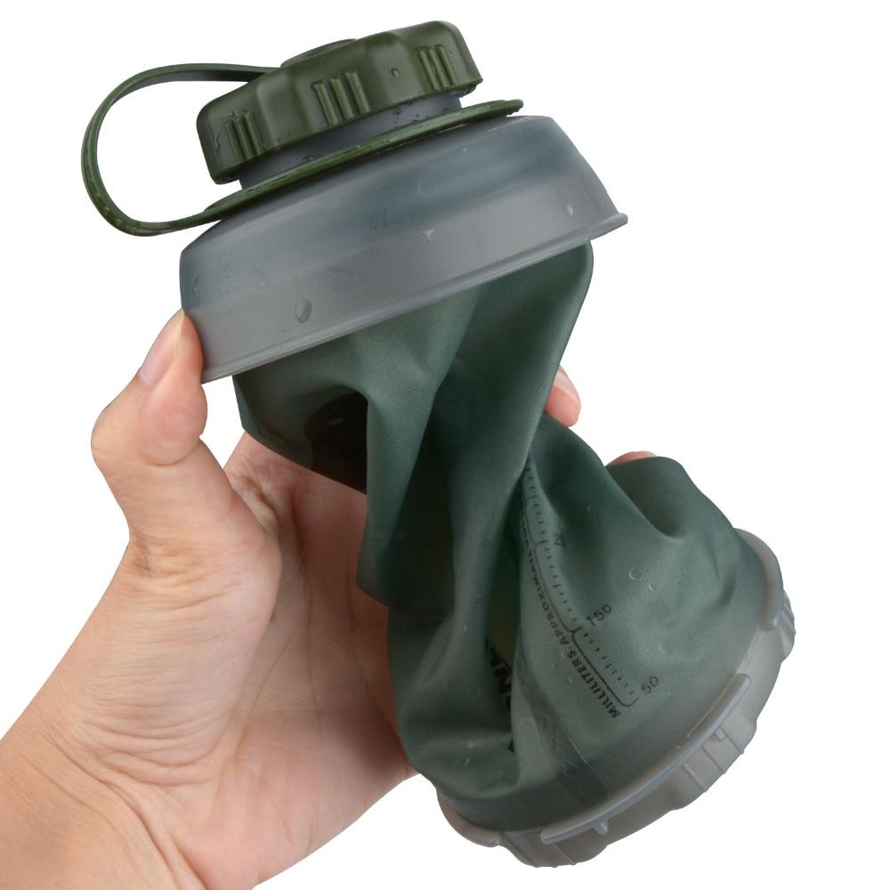 Складная бутылка для воды 750 мл, многоразовые складные легкие компактные бутылки для кемпинга, походов, альпинизма|Бутылки для воды| | АлиЭкспресс