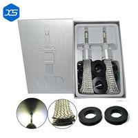 2pcs High Brightness DRL LED Car Work Lights Source C6 LED H1 H3 H4 H7 Waterproof