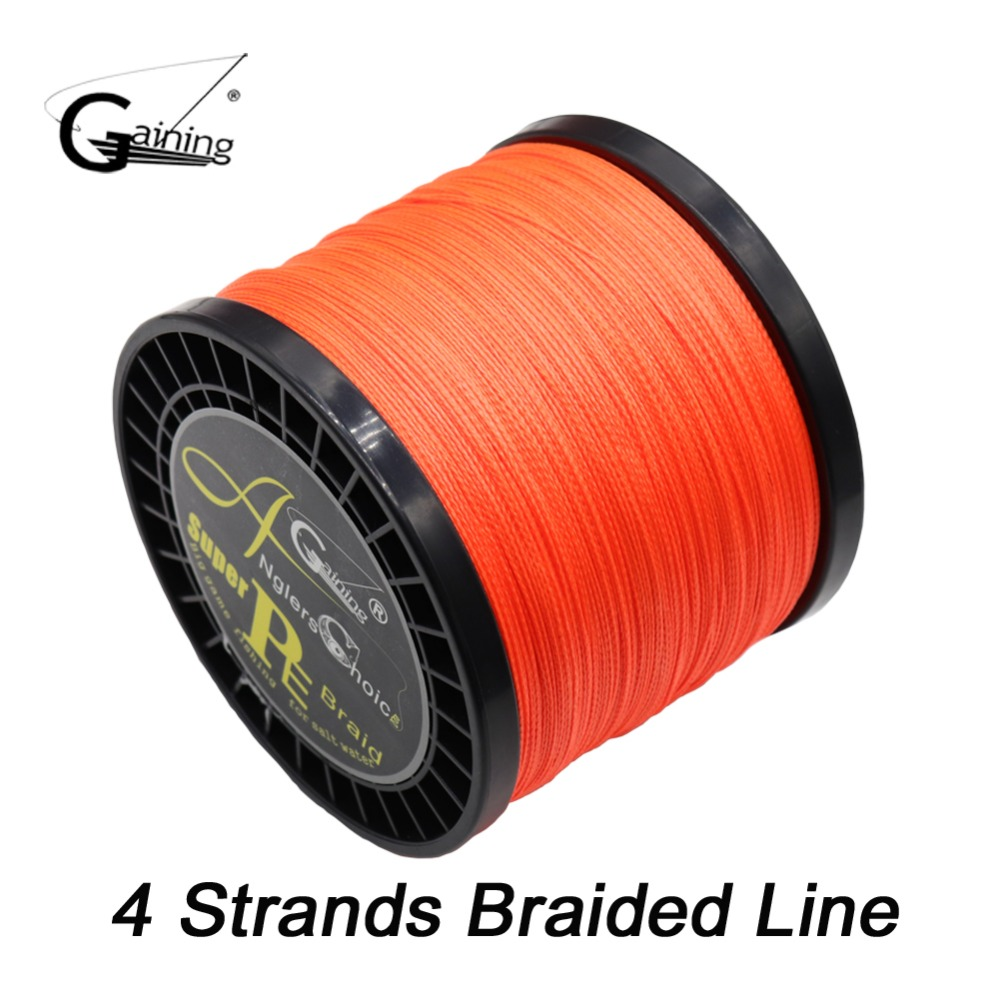 4 Strands Braided Fishing Line 1000m Multi Color Super Strong Japan ...