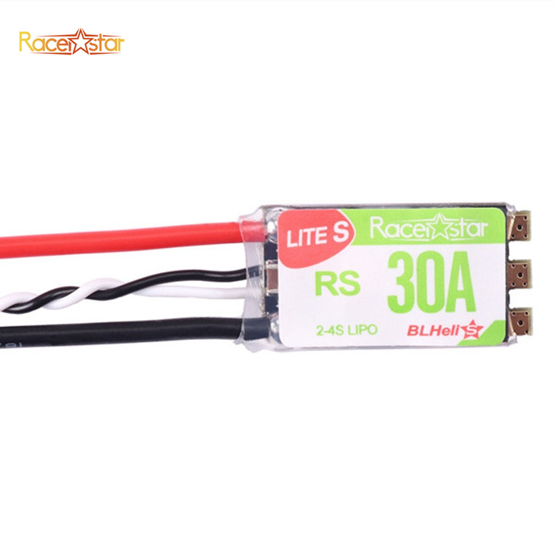 все цены на Hot Sale RC Multirotor Spare Parts Racerstar RS30A Lites 30A Blheli_S BB2 2-4S Brushless ESC For FPV Racer RC Toys