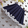 Free shipping summer new children's clothing girls cotton skirt pleated skirts children