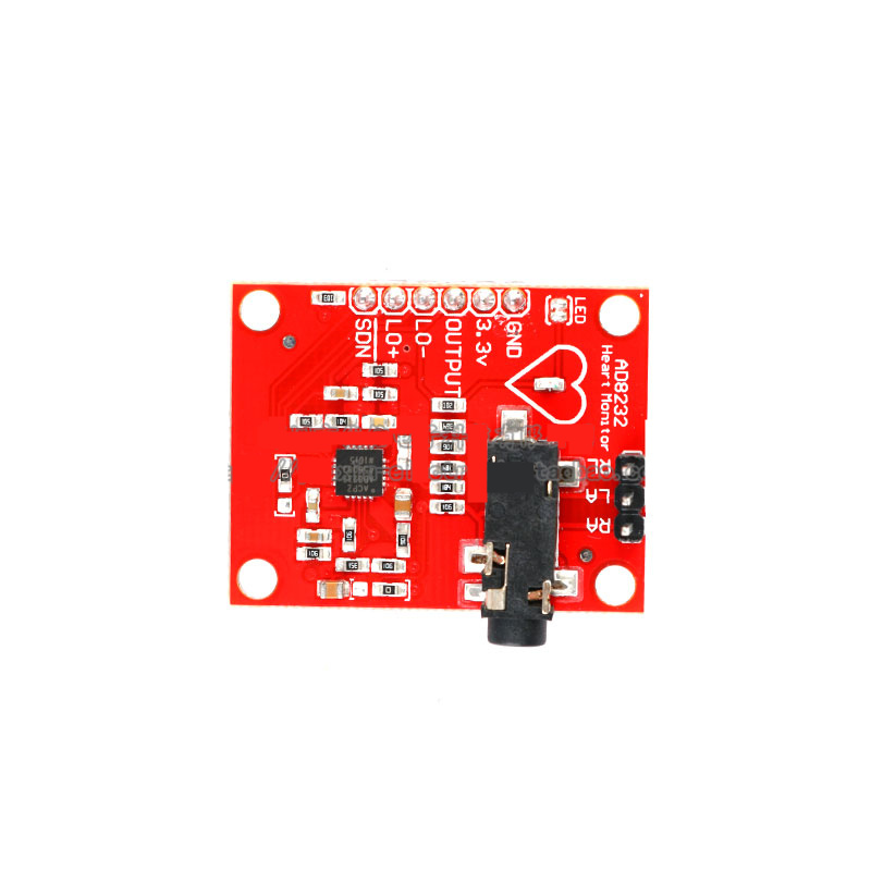 AD8232 Bioelectric Signal Acquisition Development Kit ECG Monitoring / Heart Rate Pulse Sensing