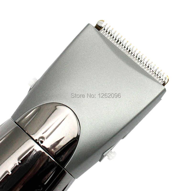 KM-605 DIY Инструменты для стрижки домашних волос Машинка для стрижки взрослых и детей перезаряжаемая машинка для стрижки волос без шума