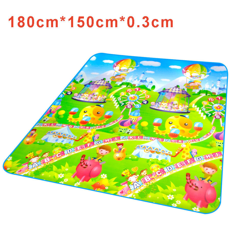 Bebe Plastic Play Mats Playing Carpet For Kid Soft Road
