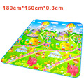 Bebe Plastic Play Mats Playing Carpet For Kid Soft Road Rug Children Crawl Mat Baby Girl Crawling Playmat Activity Blanket