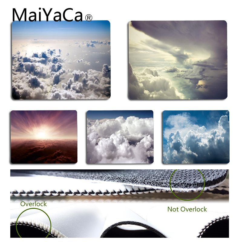 MaiYaCa Vintage Cool Clouds Mouse Pad for Laptop Laptop Gaming Mice Mousepad
