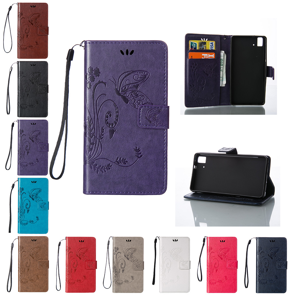 funda para Case for BQ Aquaris E5 E 5 C000070 C000073 4G LTE funda Flip Case Phone Leath ...