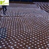 4Mx6M 750Led Christmas Garlands LED String Fishing Net Lights Fairy Xmas Party Garden Wedding Decoration Curtain Lights 220v