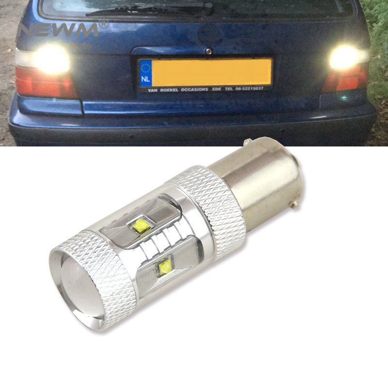 1x 1156 BA15S P21W Canbus NO Error High Power 30W Cree Chips LED Rear Reversing Tail Light Bulb For <font><b>BMW</b></font> <font><b>E30</b></font> E36 E46 F30 image
