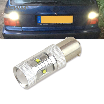1x 1156 BA15S P21W Canbus NO Error High Power 30W Cree Chips LED Rear Reversing Tail Light Bulb For BMW E30 E36 E46 F30 image