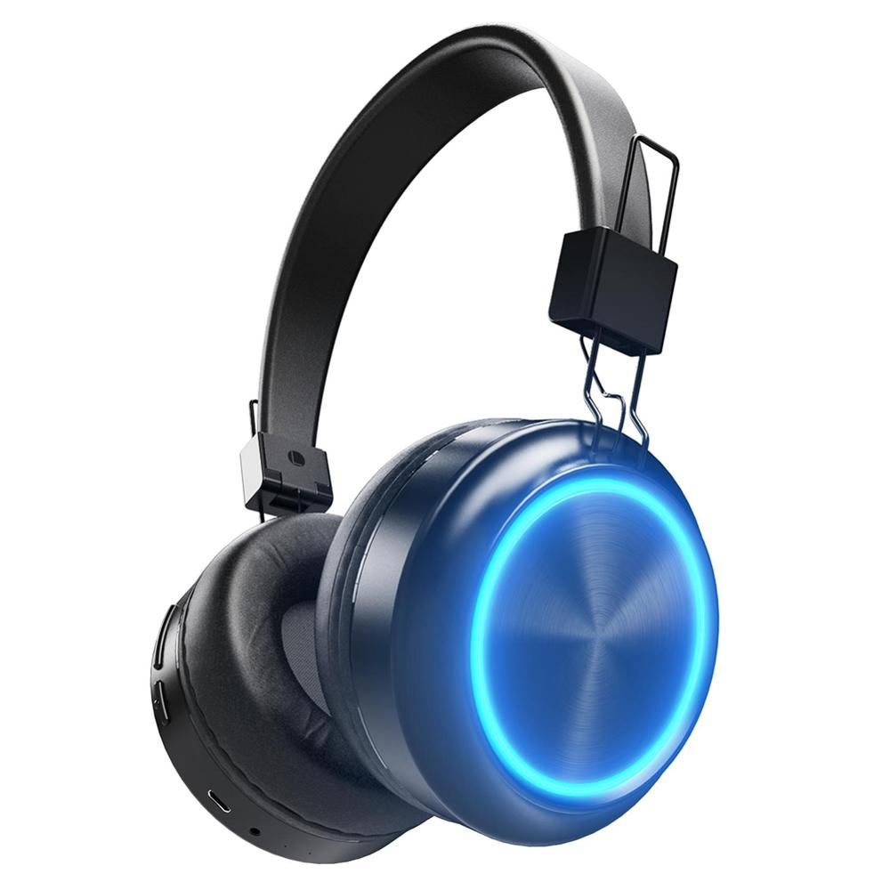 Smart Colorama Headset New Product of Headphones As Sport Bluetooth Colorful Headphone Radio With TF card