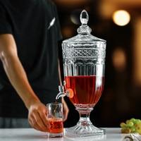 Элегантный стеклянный 3000 с подставкой без утечки Spigot 101,5 унц.. диспенсер для холодных напитков мл стеклянная посуда кувшин для воды сок вина