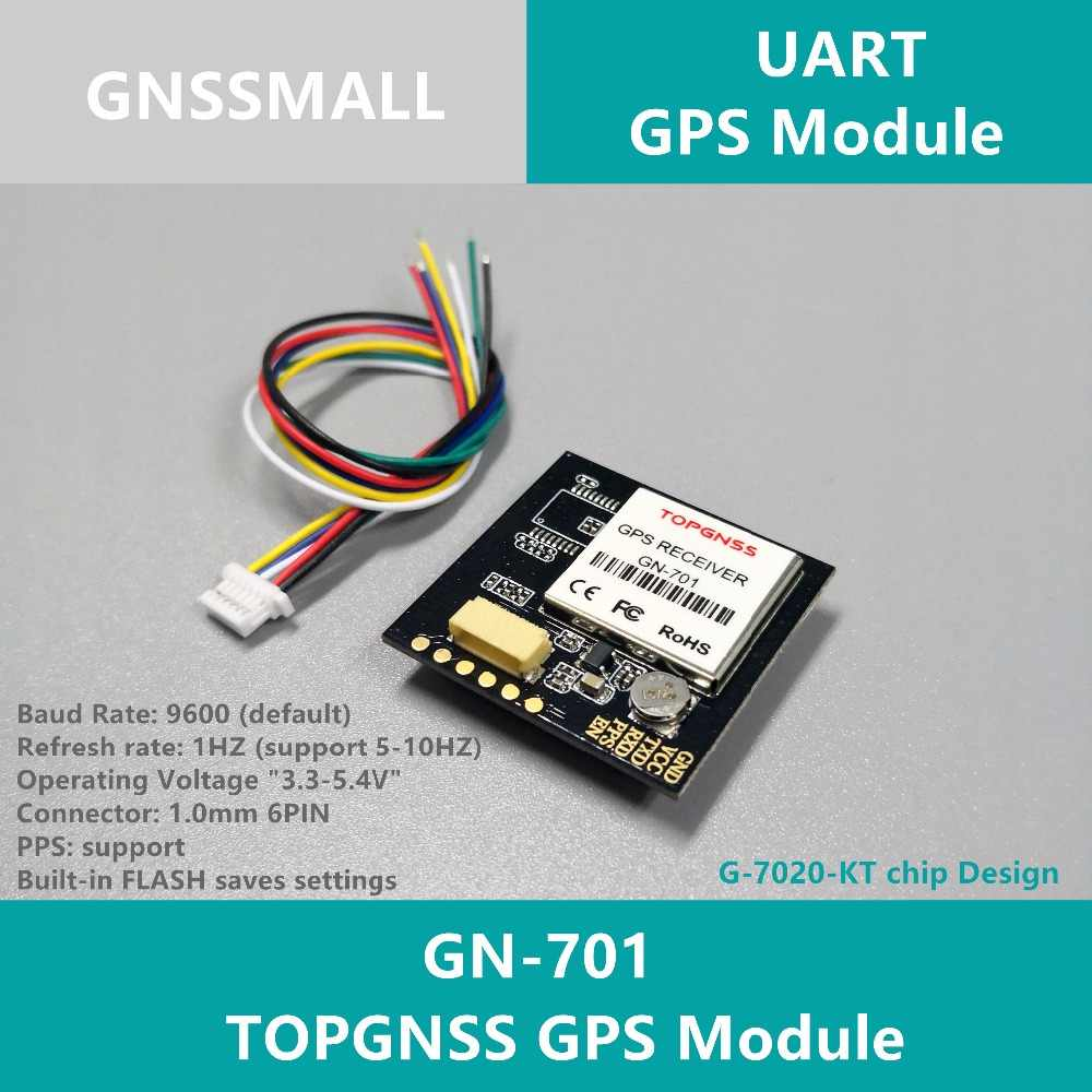 High-quality 51 single-chip GPS module antenna UART TTL level GPS chipset,GPS Module with antenna,with FLASH GN-701