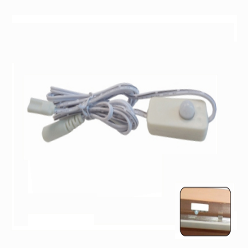 2017 new hot sale DC 12V PIR integrated motion sensor switch,Automatic turn ON/OFF sensor switch for led bar/strip/cabinet light