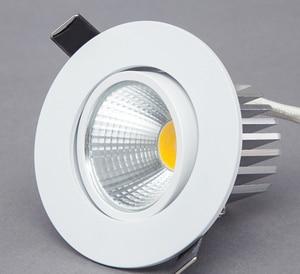 Image 1 - Dimmable LED Downlight 5W 7W 9W Spot LED DownLights Dimmable cob LED Spot Recessed down lights for living room 110v 220v