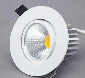Image 1 - عكس الضوء LED النازل 5 واط 7 واط 9 واط بقعة LED النازل إضاءة جدارية ليد قابلة للخفت بقعة راحة أسفل أضواء لغرفة المعيشة 110 فولت 220 فولت