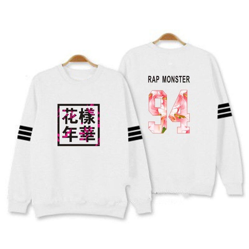 BTS Kpop Women Hoodies Sweatshirts Letter Printed in J-HOPE 94 and SUGA 93 JUNG KOOK 97 female sweatshirts xxxl hoody coat