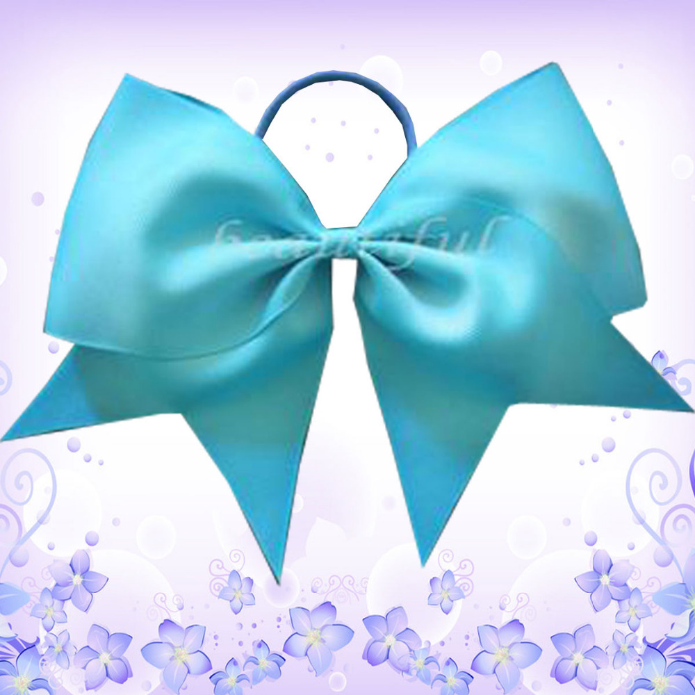 100 BLESSING Good Girl Hair Accessories 7 Cheer Leader Bow Elastic 83 No.
