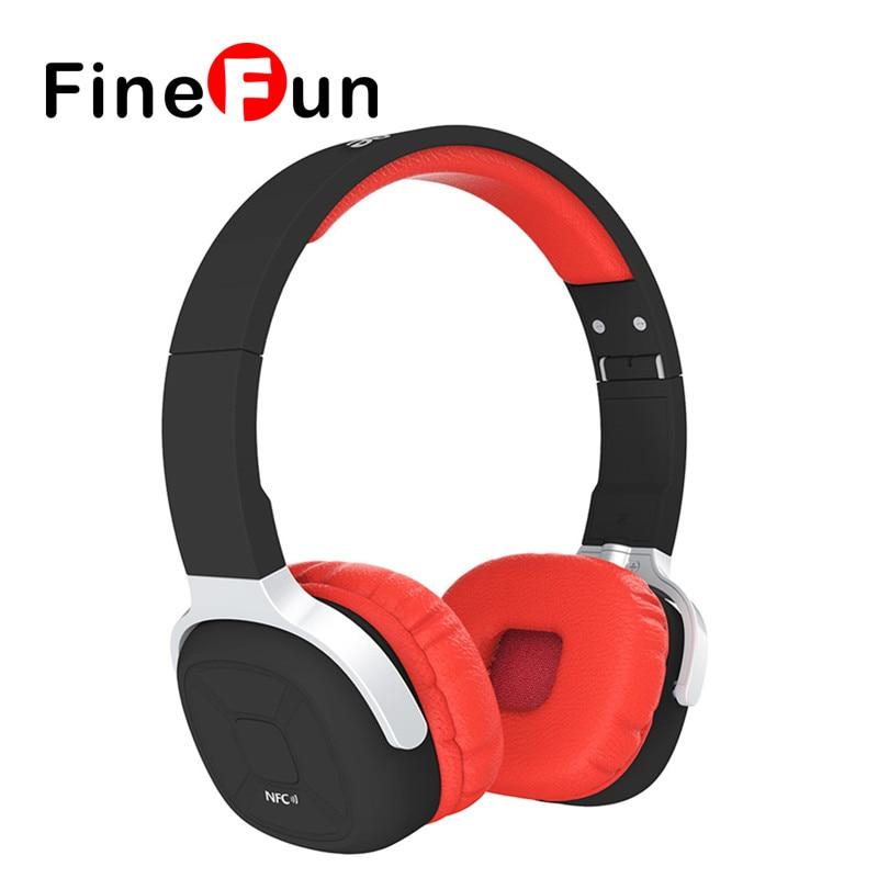 ФОТО FineFun New Bee Bluetooth Headphones Bluetooth Headset Wireless Headphones  Earphone for IOS Android Phone Smartphone Table PC