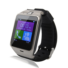 GV18 1.54-inch Touch Screen GSM Bluetooth Smart Watch Wrist Watch Phone Mate Black White Free Shipping
