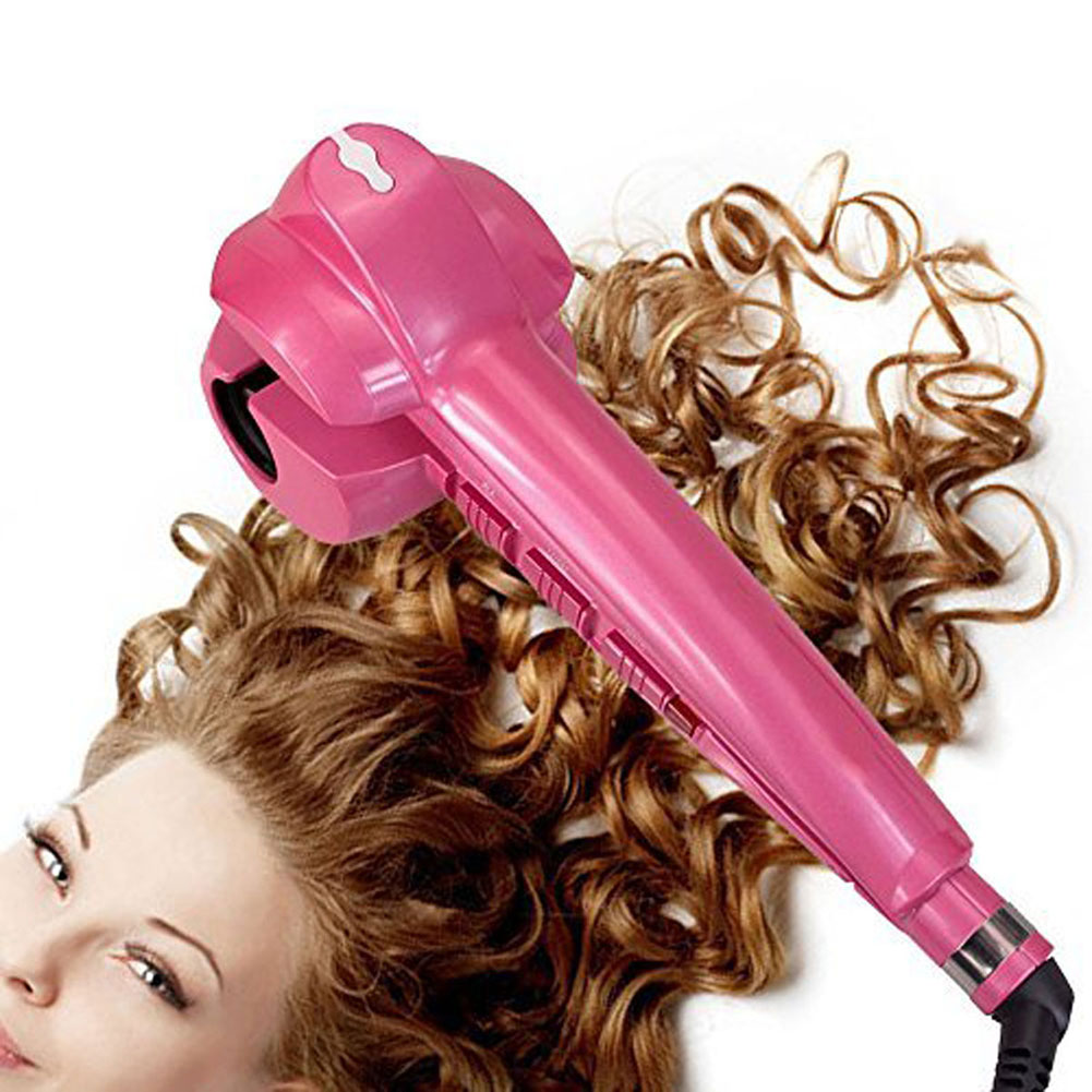 Magic Automatic Hair Curler Styler Heating Curling Hair Styling Tools Iron Hairs Curl Wave Machine EU US UK Plug HS11 magic hair curling tool electric 1pc hair styling tools hair curler roller pro spiral curling iron wand curl styler eu plug