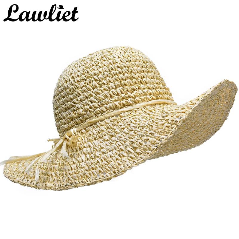 Aliexpress Buy Lawliet Summer Women Sun Hats Glitter Womens