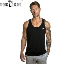 2016 Men's LoudMouth Stringer gyms Tank Tops  Bodybuilding and Fitness Singlets  Muscle Shirt Clothes fitness tank tops