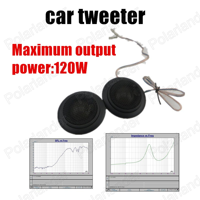 Universa hot sale Car stereo speaker High Efficiency Audio Speakers Car Speaker mini car Tweeters Speaker 2x120W