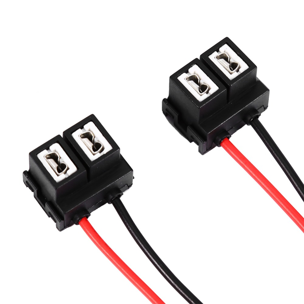 2x Replacement H7 2 Pins Headlight Repair Bulb Holder Connector ... for Bulb Holder With Plug  177nar