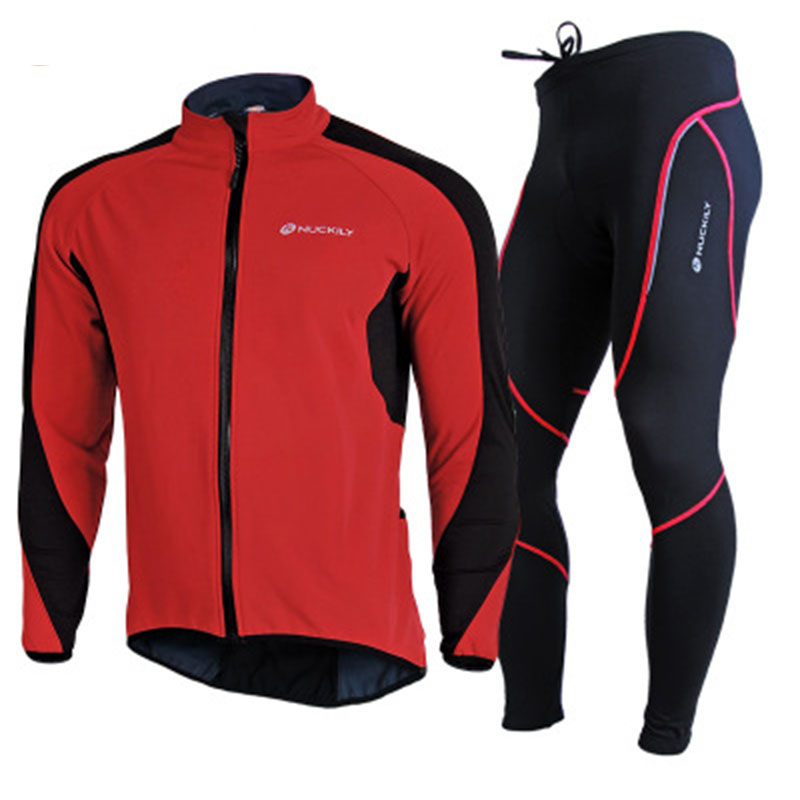 2017 Cycling Jacket Set Winter Men Ropa Ciclismo Maillot Male Bicycle Riding Mtb Clothes Thermal Jersey and Pants Suit
