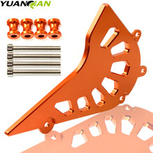Orange Motorcycle CNC Aluminum Front Sprocket Chain Cover Guard Protect Accessories for KTM Duke 125 200 390 2013 2014 2015 free shipping orange motorcycle cnc aluminum front sprocket cover engine chain guard protection for for ktm duke 390