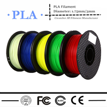 3D Printer PLA Filament 1.75mm 3mm 17colours Accuracy +/- 0.05mm for MakerBot/RepRap/UP/Mendel/Createbot