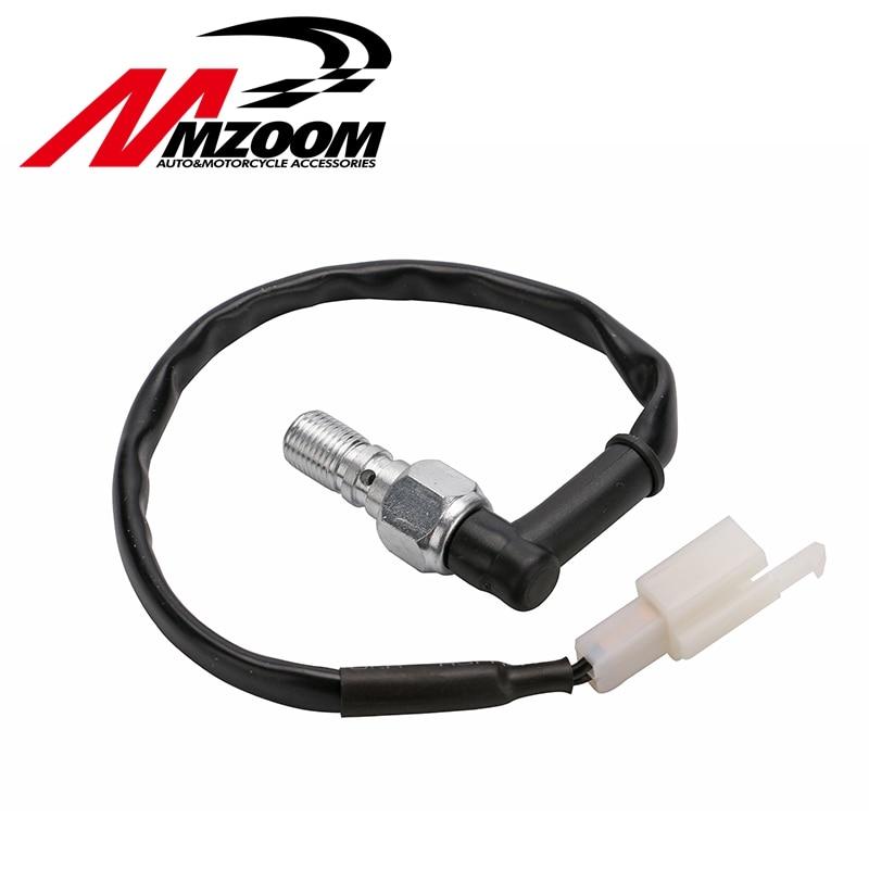 M10 x 1.25mm x 22mm Motorcycle Hydraulic Banjo Bolt Brake Pressure Light Switch