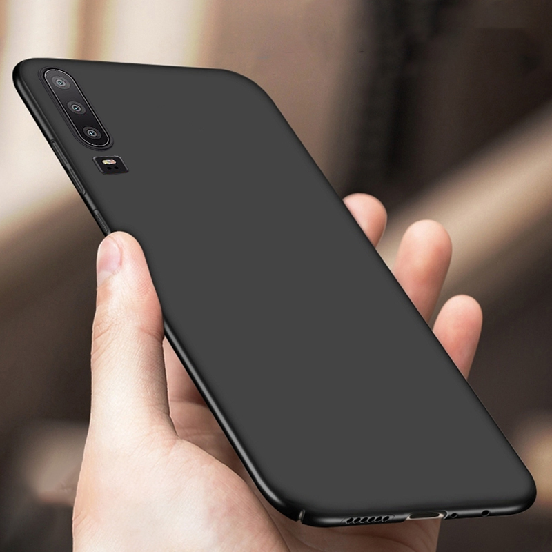 Ultra Thin Matte <font><b>Case</b></font> For Huawei P20 P30 <font><b>Case</b></font> P20 P30 Lite Pro p Smart 2019 Soft TPU Silicone Back Cover For Mate 20 lite Pro image