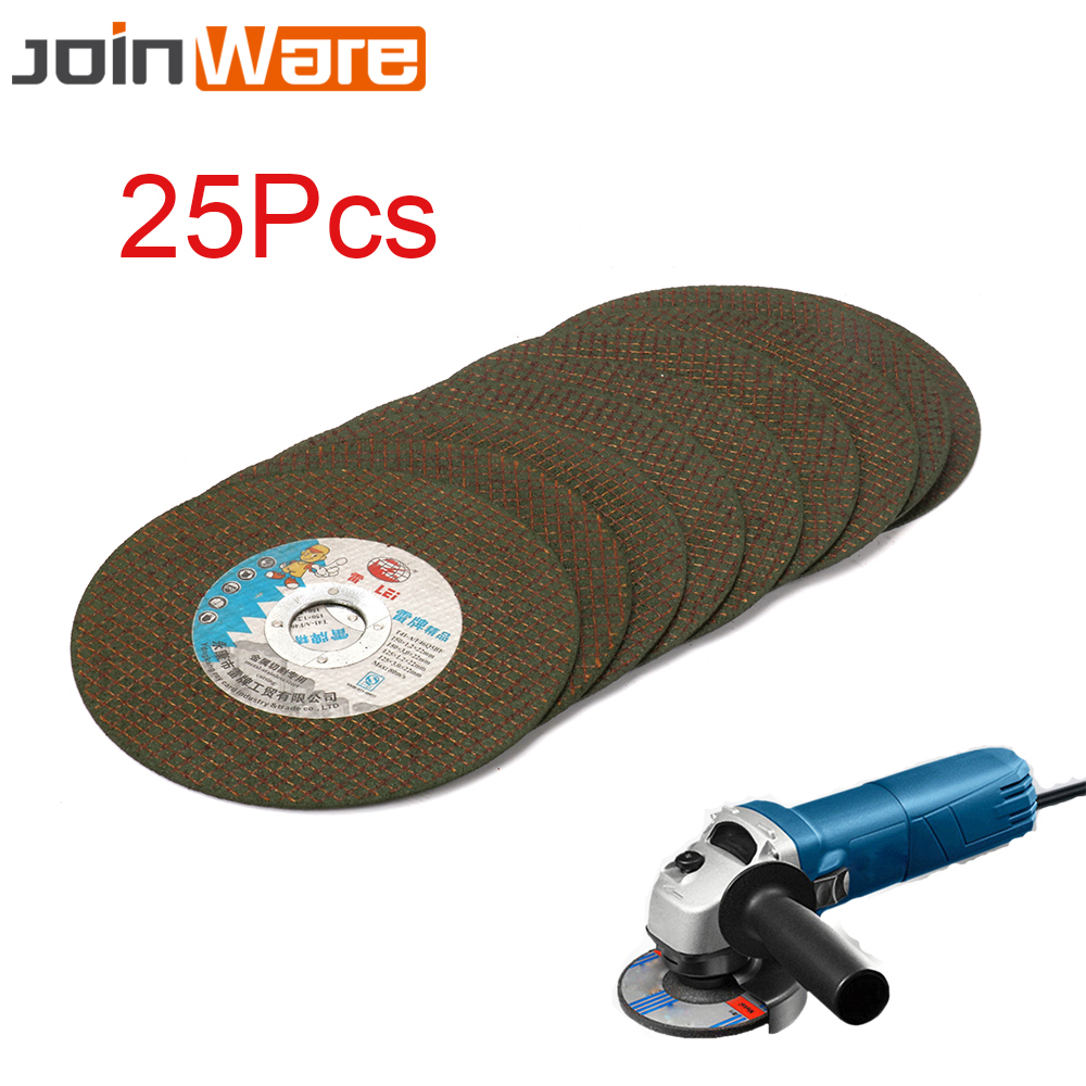 25Pcs 150MM 6 Ultrathin Resin Cutting Wheel Grinding Disc For Stainless Steel Iron Metal Angle Grinder Rotary Tools 22MM Bore 100 resin grinding wheel piece metal cutting type angle grinder using